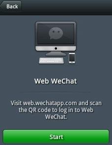 Cara Chat   menggunakan Wechat di PC/Komputer, Sewaktu kita sedang ...