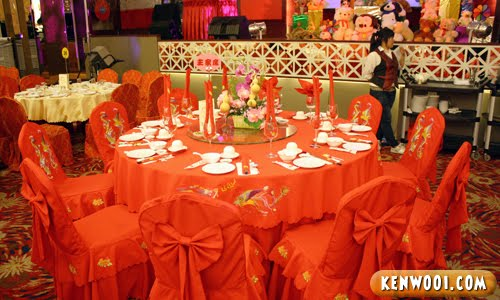 chinese wedding table