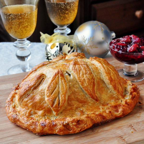 Cranberry Hazelnut Turkey Wellington