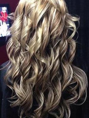 ondas sueltas en peinados