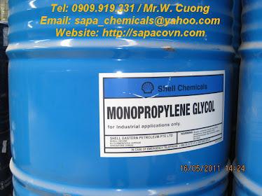 Monopropylene glycol (MPG) - USP/EP