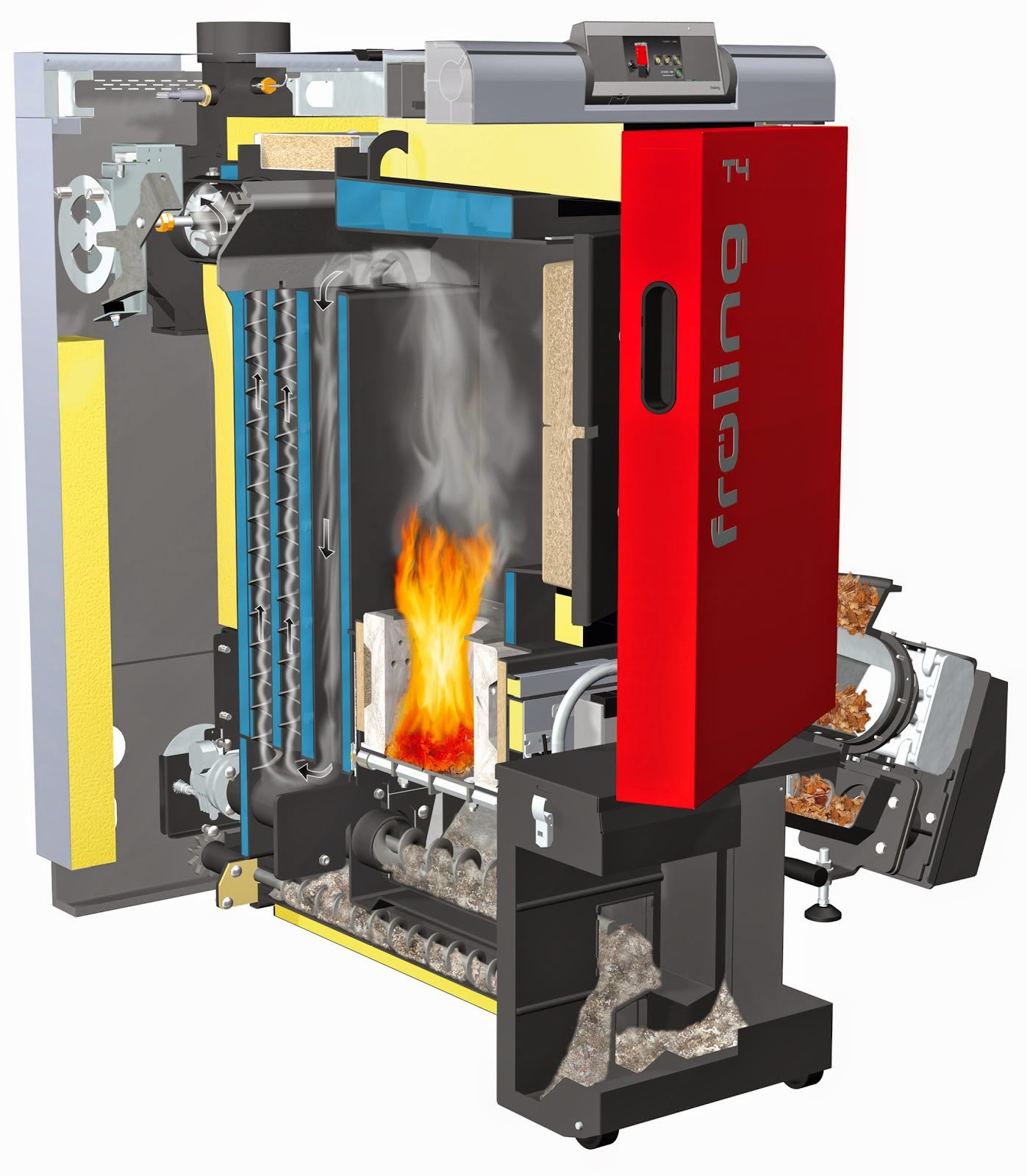 The Fröling T4 Wood Chip Boiler