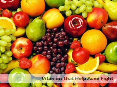 vitamins that help acne fight
