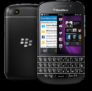 Harga Terbaru BlackBerry Q10 Dari Telkomsel, Indosat, XL Dan Axis