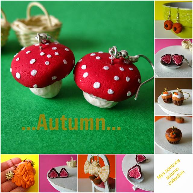 mini bonbons si veste di colori caldi per l'autunno!!