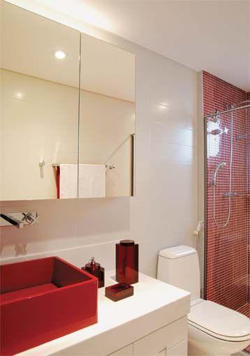 Cores para o Banheiro  Comprando Meu Apê  Comprando Meu Apê -> Armario Banheiro Lilas
