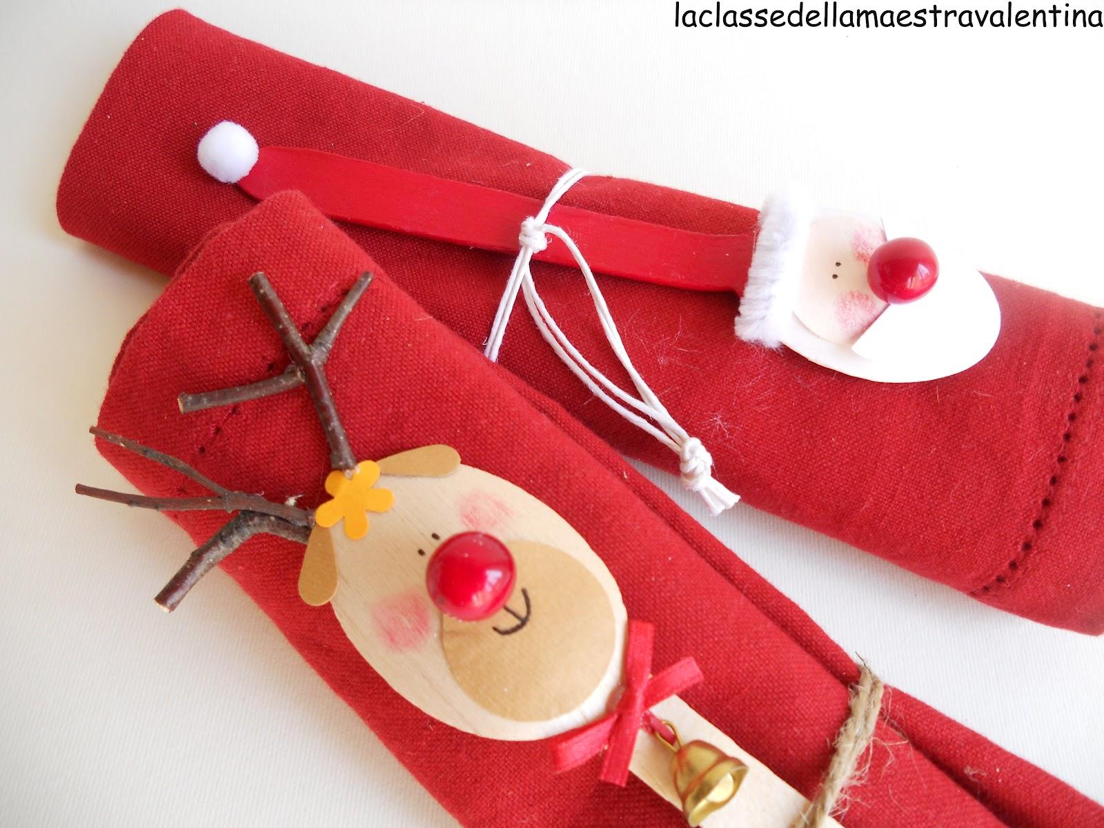 La classe della maestra valentina cucchiaini segnaposto for Abbellire la classe per natale