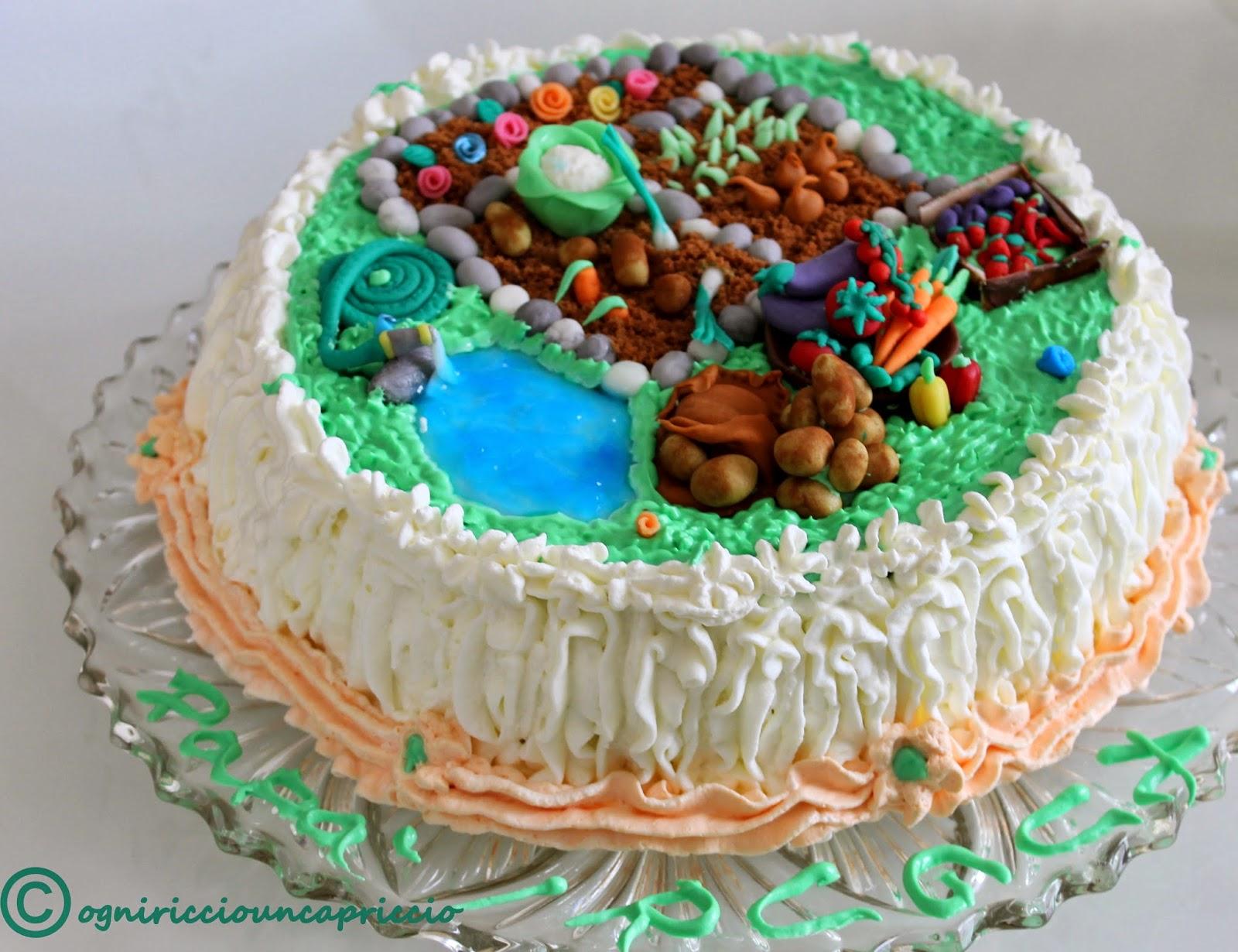 torta decorata per la festa del papà
