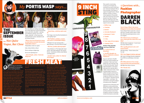 Portis Wasp featured in Scotcampus September issue