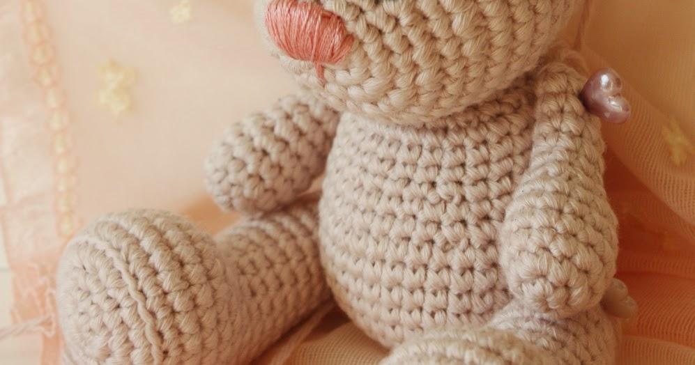 Tiny Amigurumi Bear Pattern : Amigurumi creations by Happyamigurumi: Tiny Amigurumi Bear ...