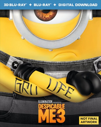 Despicable Me 3 2017 English 720p BRRip 850MB ESubs