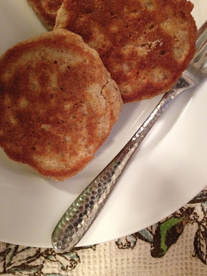 Healthy Wheat-Oat Pancake recipe