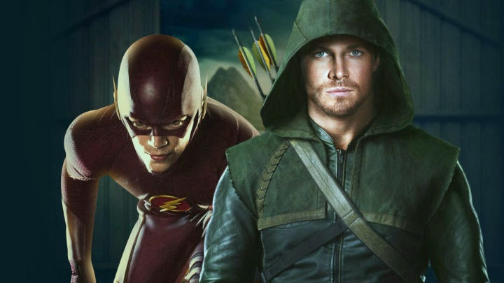 Arrow & The Flash - Stephen Amell & Grant Gustin Tease the Crossover with IGN