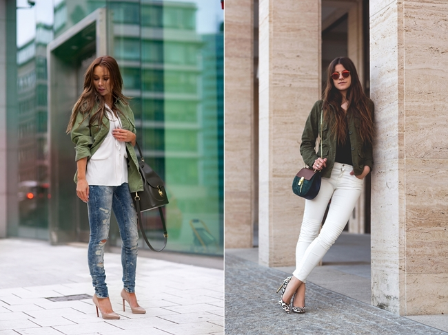 Johanna Olsson, The Fashion Fraction, Fashioblogger Looks, Khaki Jacke