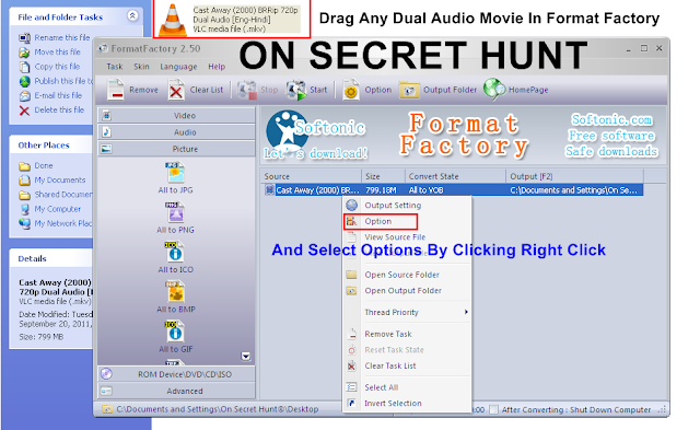 ff How To Convert Dual Audio Movie To Single Audio Movie   Best Tutorial With Pics