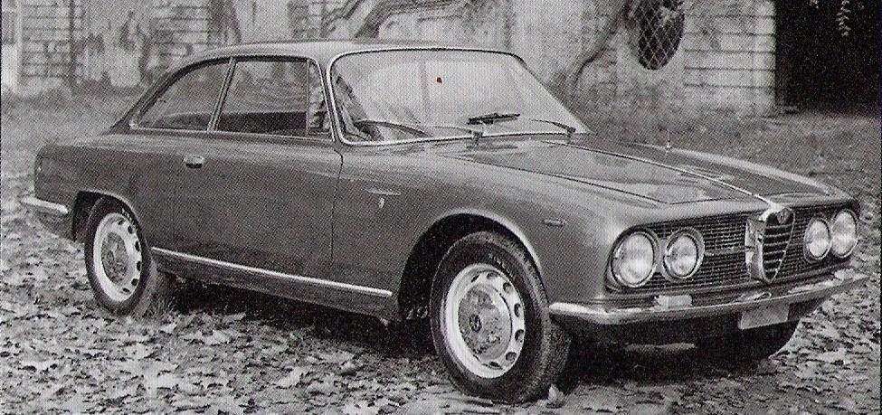 auto e moto d'epoca: alfa romeo 2000 sprint (1960 - 1962)