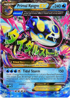 Primal Kyogre EX Pokemon Card