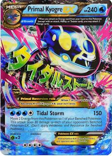Primal Kyogre EX Pokemon Card