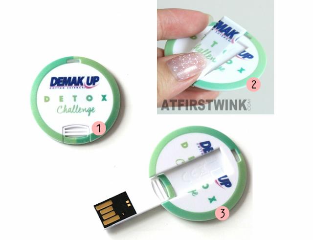 Demak'Up Detox Challenge USB - open maken