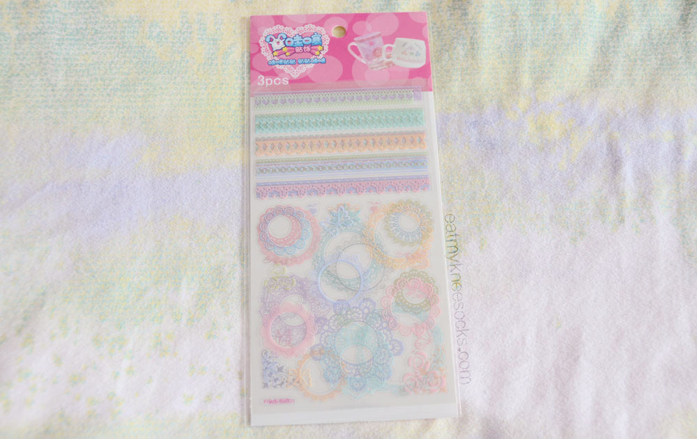 If you love decoden and DIY phone decor, these lace decorative stickers are perfect for you.