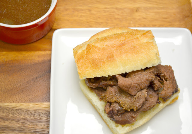 French dip sandwich recipe