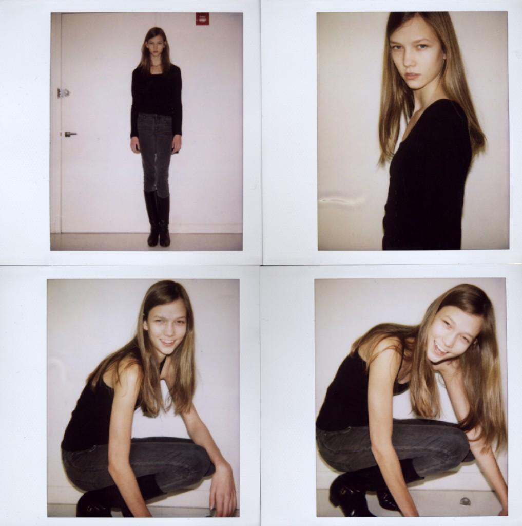 Karlie Kloss Polaroids Dress Me: Models: Karl...