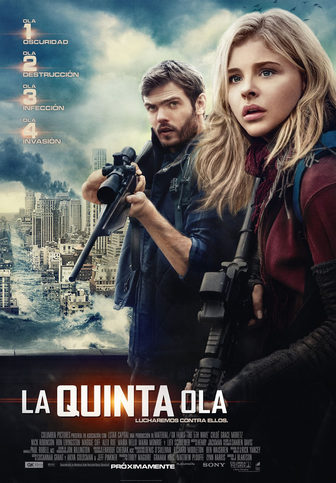 La Quinta Ola ( 2016 ) The Fifth Wave (The 5th Wave)