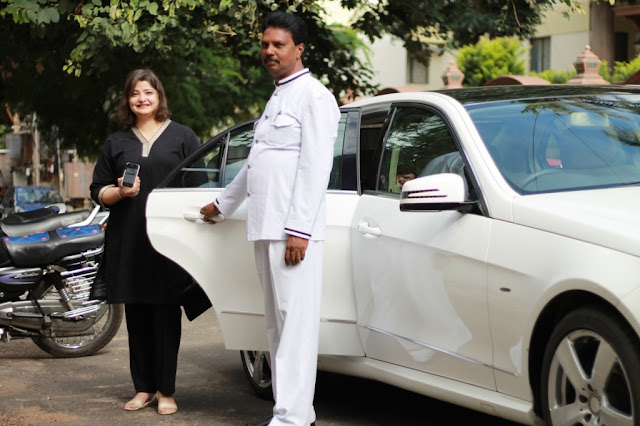 UBER the 'Cab on Demand' App and service secretly comes to Bangalore