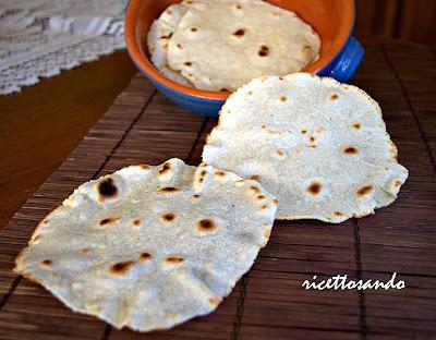 tortillas messicana con lievito madre ricetta base