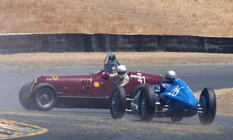Just A Car Guy: Scary moment in vintage race car racing