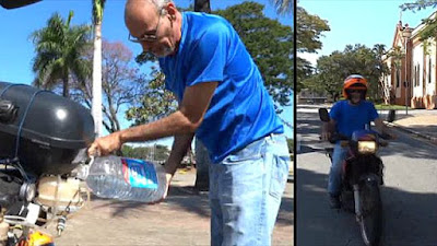 Pakcik Ini Mencipta Motorsikal Menggunakan Air Yang Boleh Jalan Sejauh 500KM