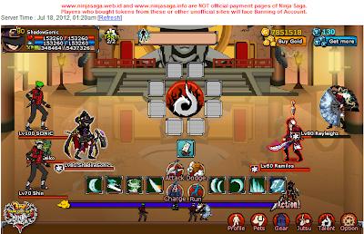 Ninja Saga Cheats