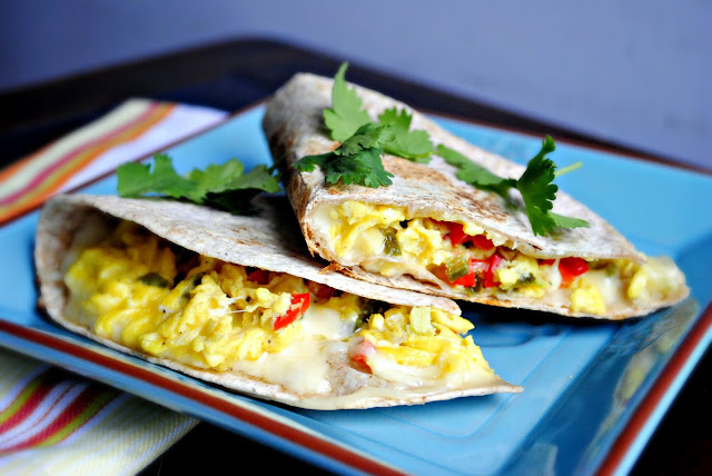 Breakfast Quesadilla l SimplyScratch.com