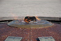 Centennial Flame at Parliaments Hill Ottawa
