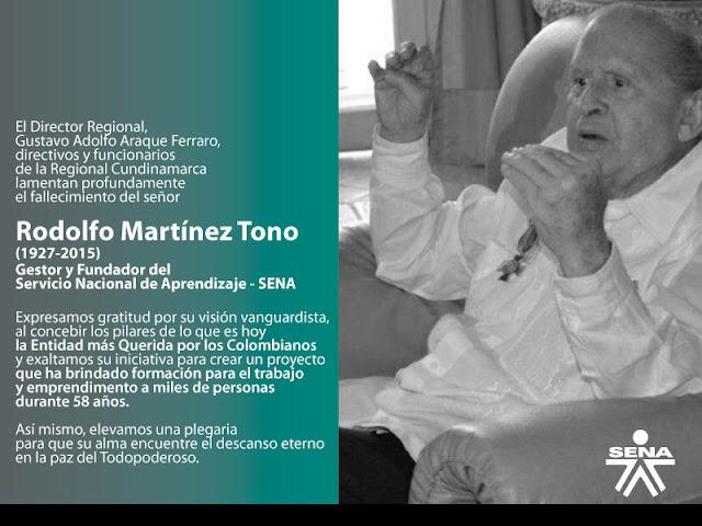 Rodolfo Martínez Tono