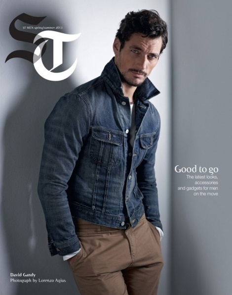 David Gandy Sunday Telegraph Spring 2013