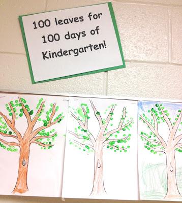 100 leaves on a tree