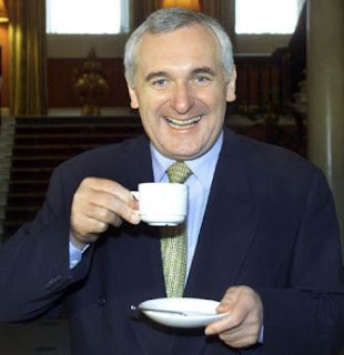 Former Irish leader Bertie Ahern