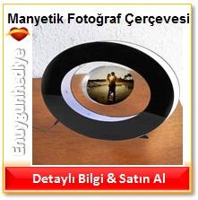 Manyetik Elips Fotoğraf Çerçevesi