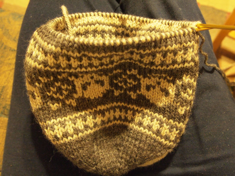 Minion Knitting Patterns : Christina Creating: Double Knit Skull Cap