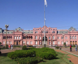 CASA DE GOBIERNO O CASA ROSADA (Buenos Aires) ARGENTINA.