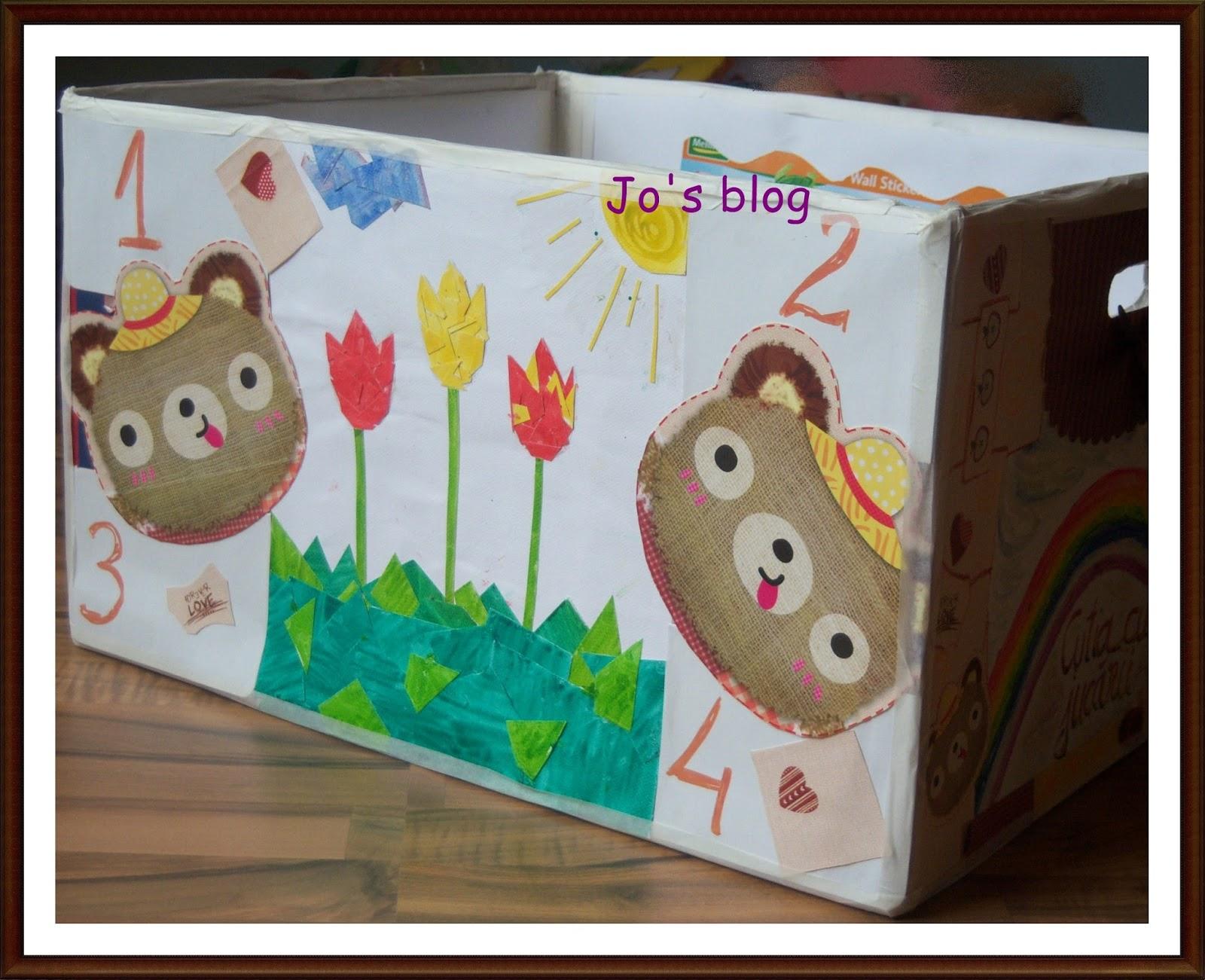 cutie jucării copii handmade