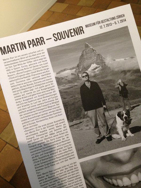 Martin Parr Museum für Gestaltung Zürich