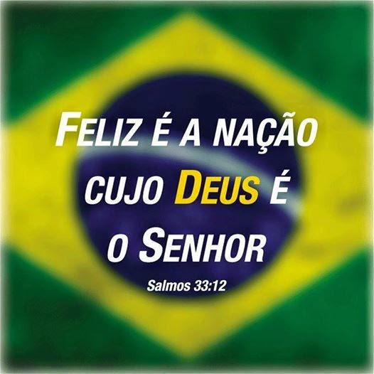 O Brasil é do Senhor Jesus