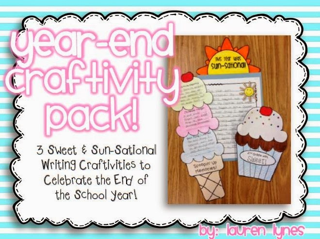 http://www.teacherspayteachers.com/Product/Year-End-Craftivity-Pack-3-Sweet-Sun-Sational-Writing-Craftivities-1230506