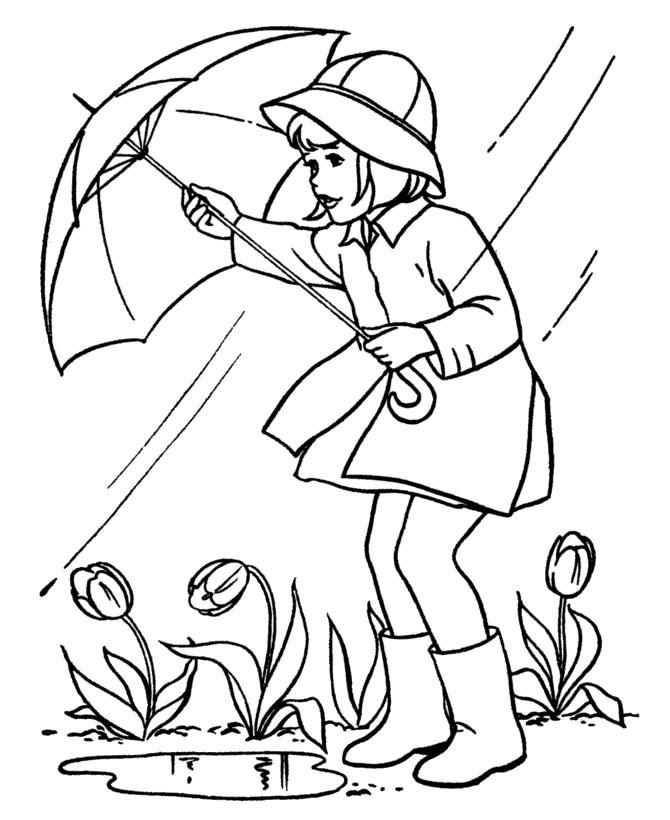 Картинки о весне для раскраски
