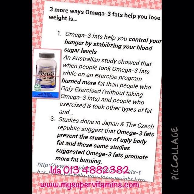 omega guard bantu cepatkan diet nak kurus