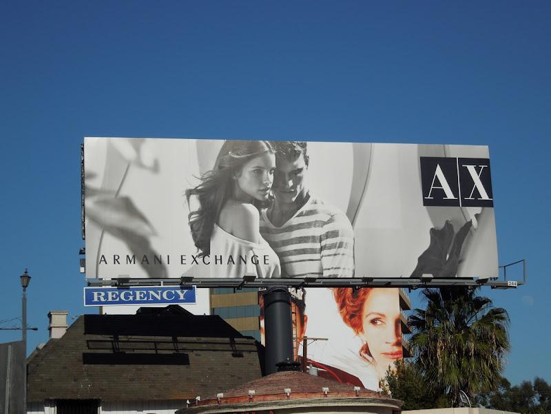 AX Spring 2012 billboard