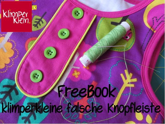 FreeBook zur falschen Knopfleiste