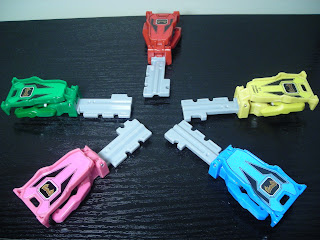 Legend Sentai Ranger Key Set Magiranger Keys Bandai Super Sentai Gokaiger
